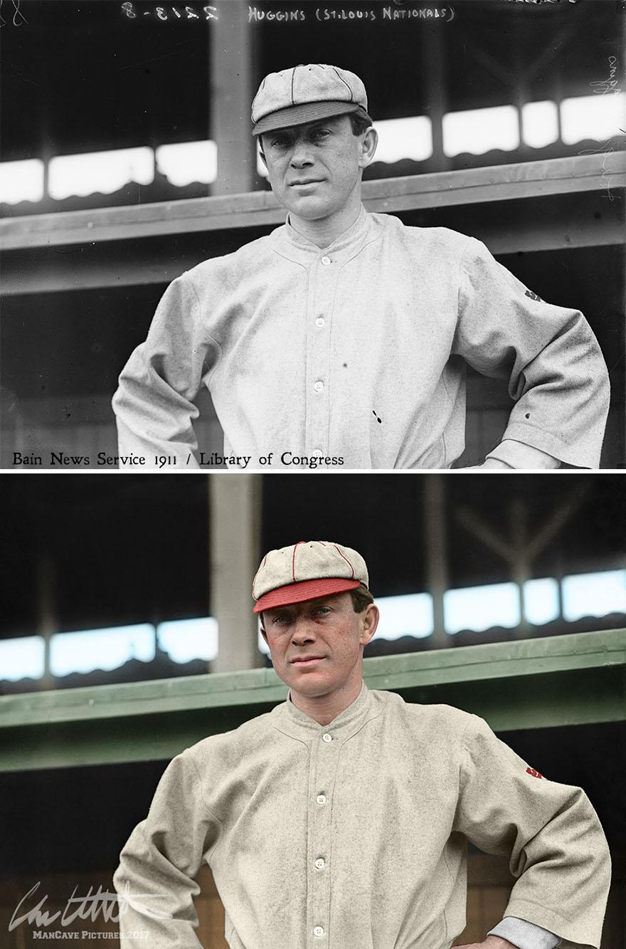 Miller Huggins. St. Louis Cardinals, 1911