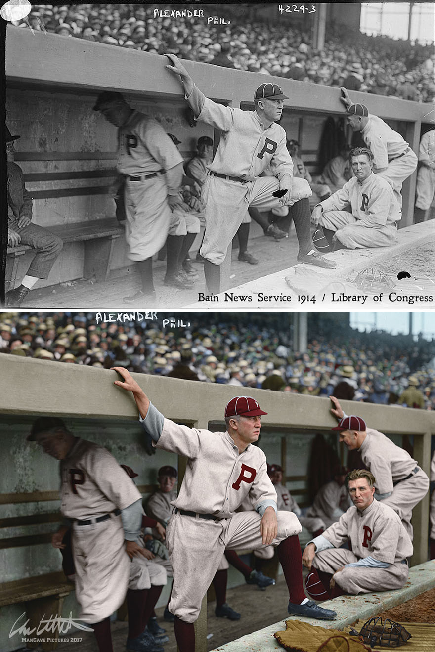 Grover Cleveland Alexander. Philadelphia Phillies, 1914