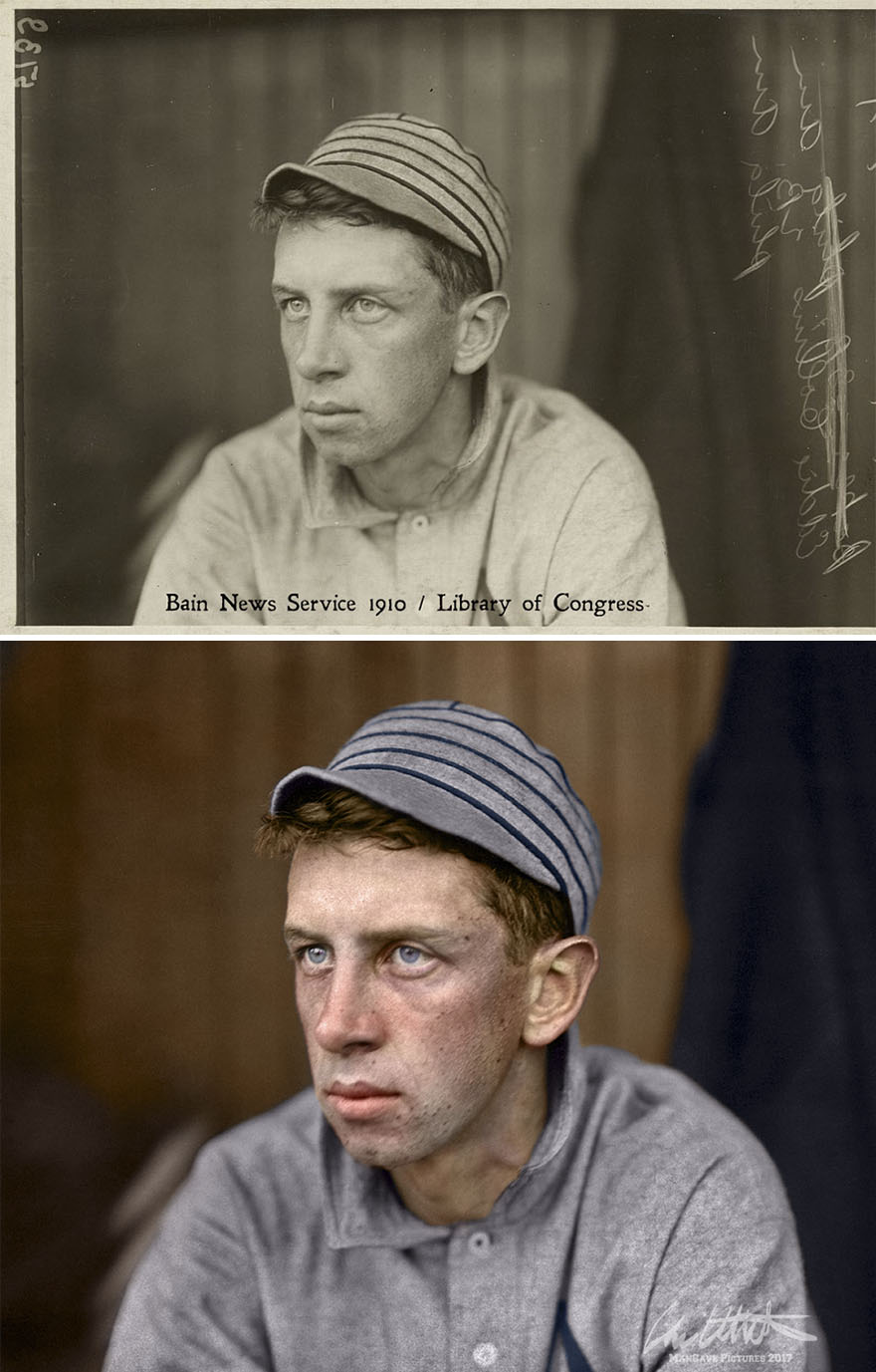 Eddie Collins. Philadelphia Athletics, 1910