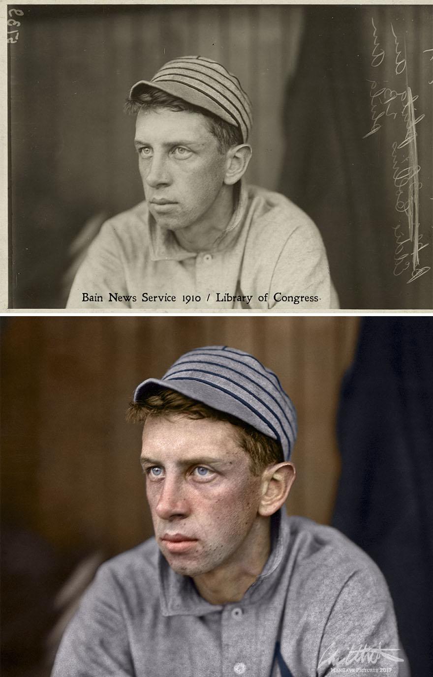 Eddie Collins. Philadelphia Athletics, 1910