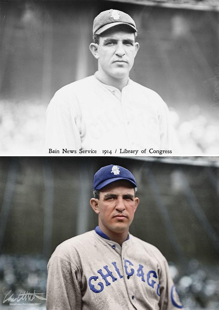 Hippo Vaughn. Chicago Cubs, 1914