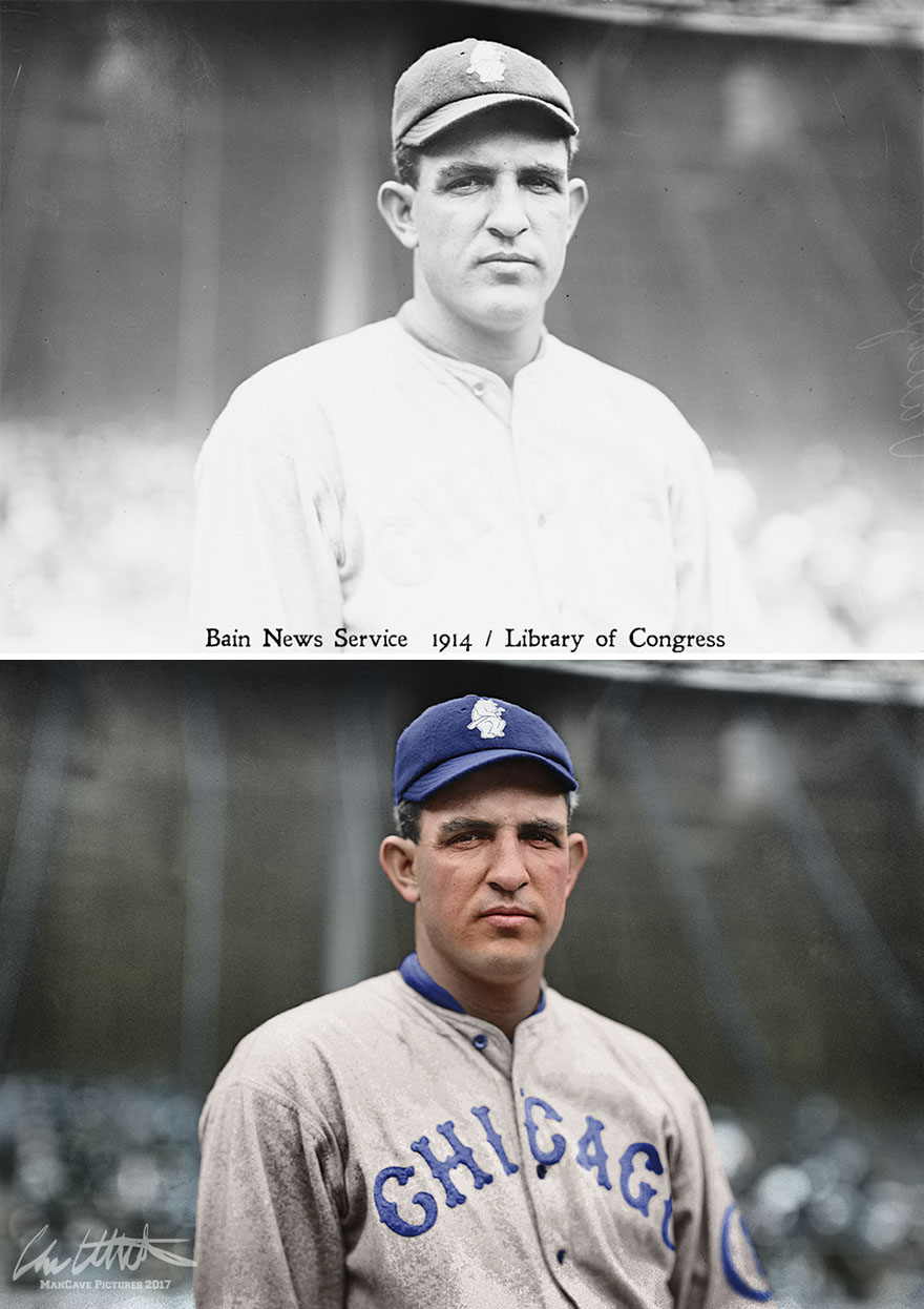 Hippo Vaughn. Chicago Cubs, 1914