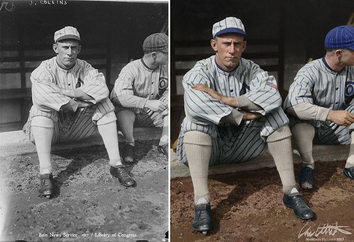 "John ""Shano"" Collins. Chicago White Sox, 1917"