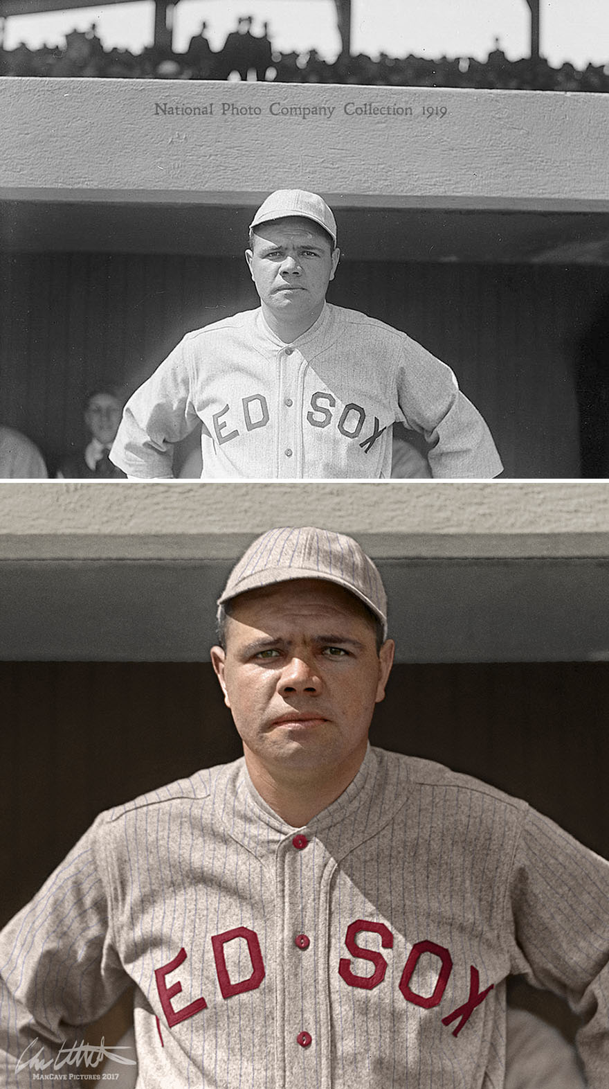 Babe Ruth. Boston Red Sox, 1919