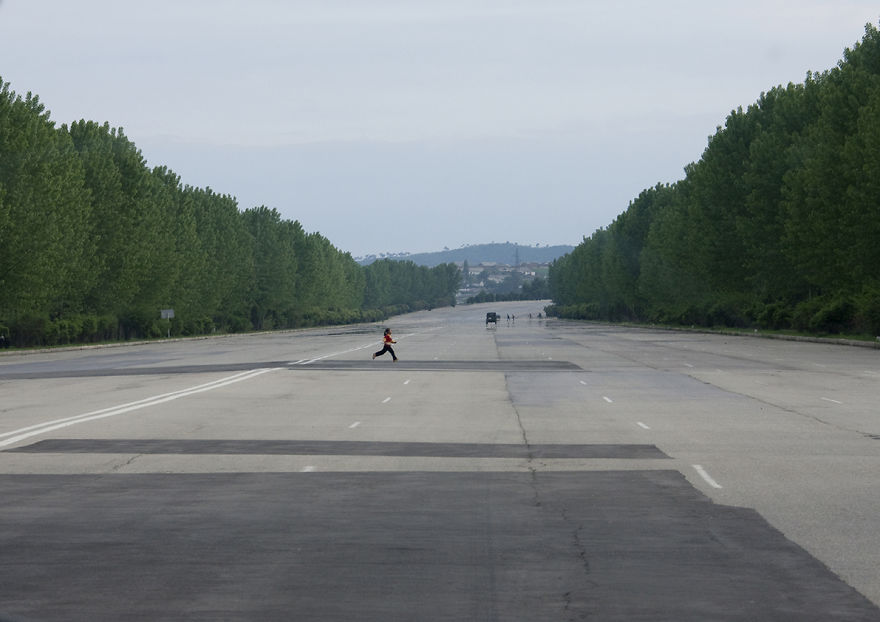 The Highways Are So Large That Even Planes Could Land On Them