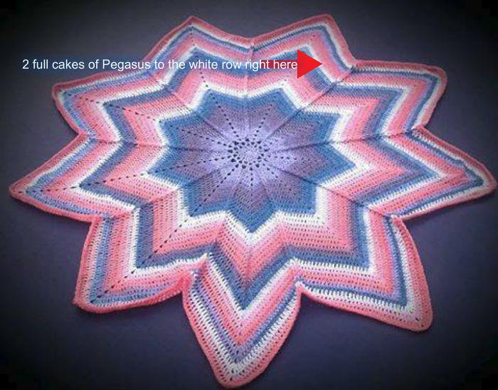 Star Light Blanket By Crochet Rox