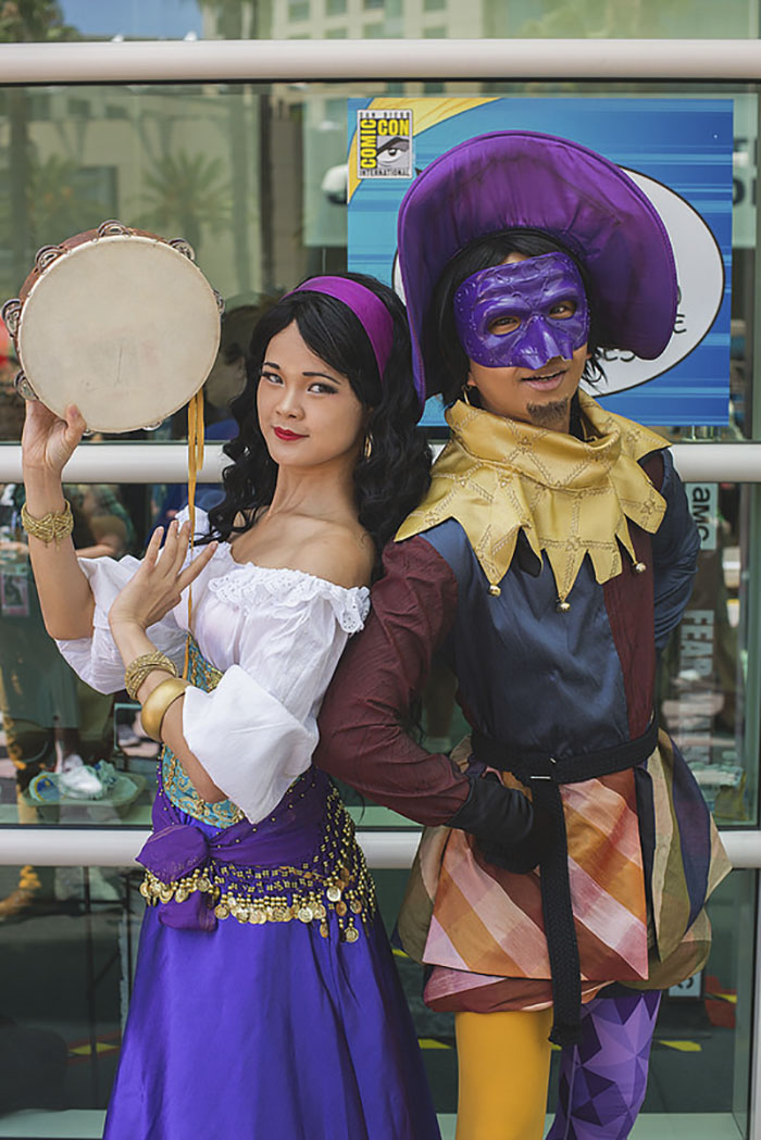 Esmeralda And Clopin Trouillefou, The Hunchback Of Notre Dame