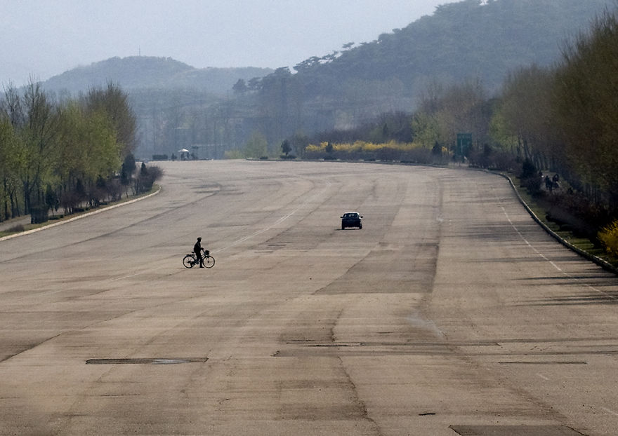 Highway To Yell In North Korea