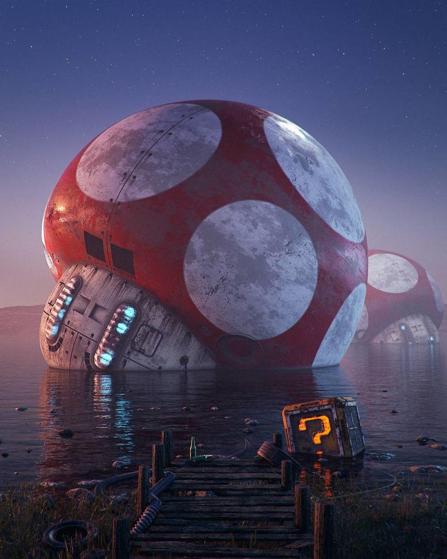Pop Culture Apocalypse In Amazing Digital Art By Filip Hodas