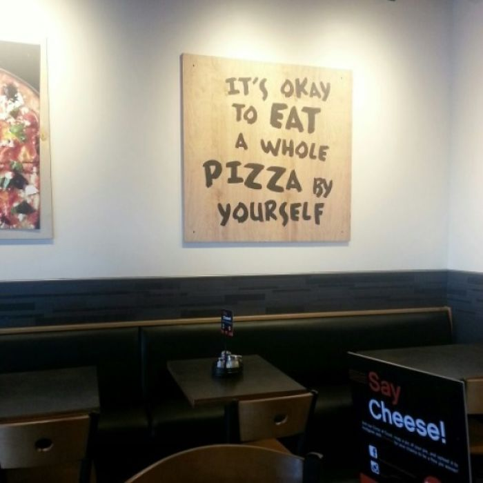 Finally A Restaurant That Truly Understands Me