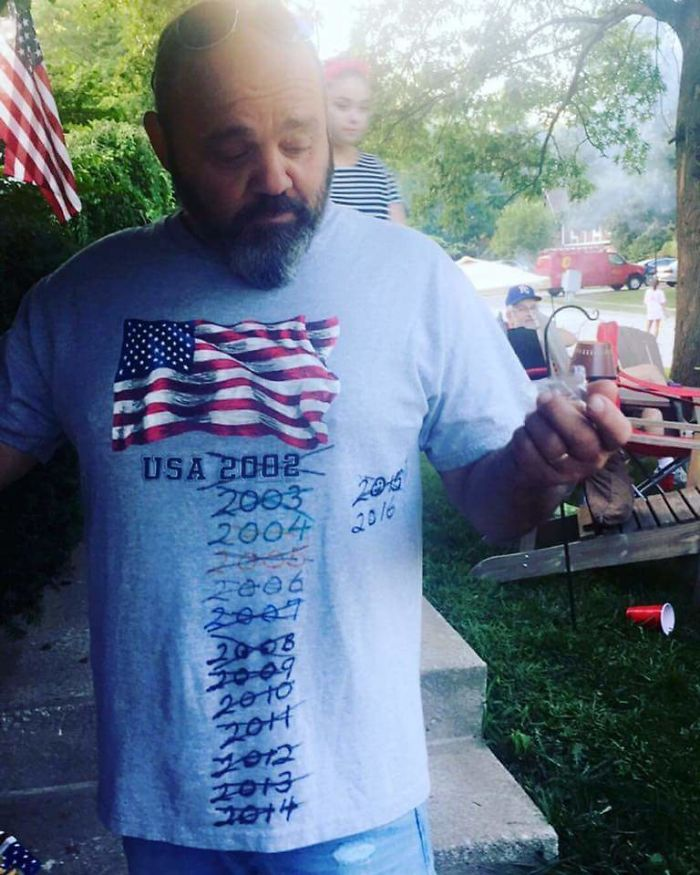 My Father's 4th Of July Shirt