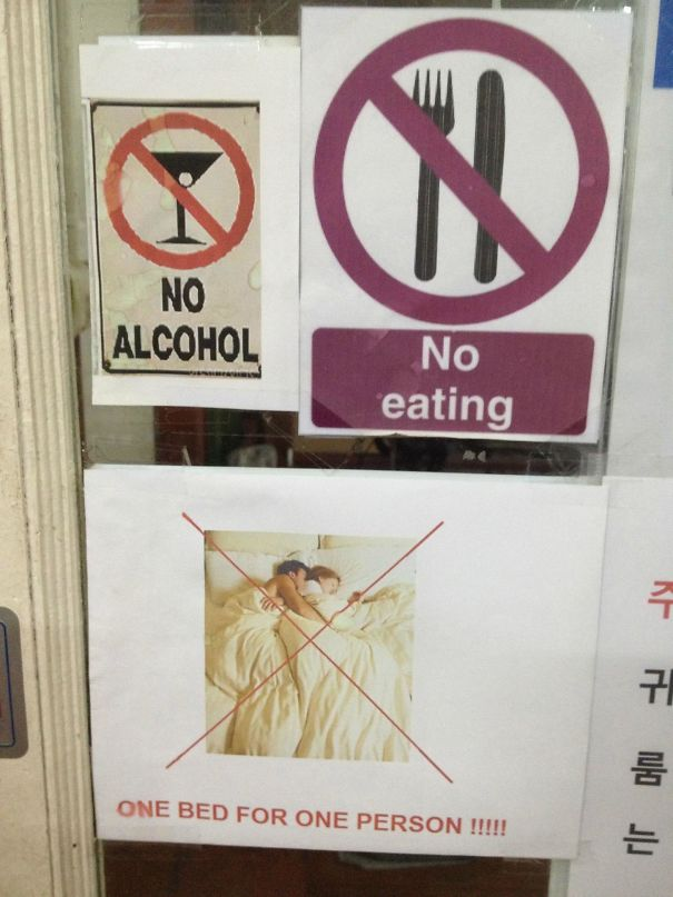 This Hostel In Bangkok Forbids All Of My Favorite Things