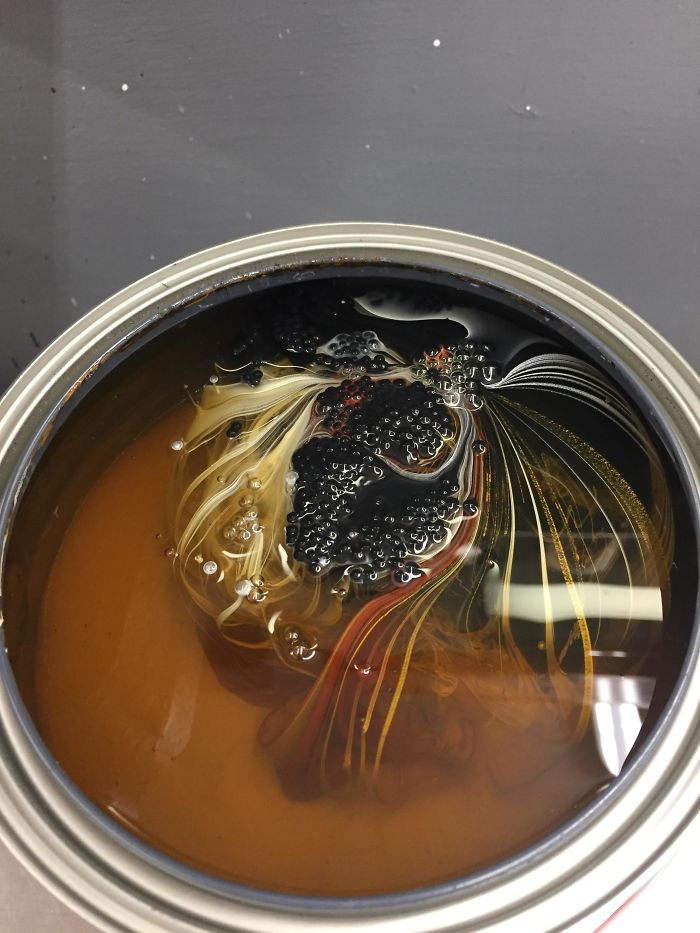 This Is What Paint Looks Like Before It Gets Shaken