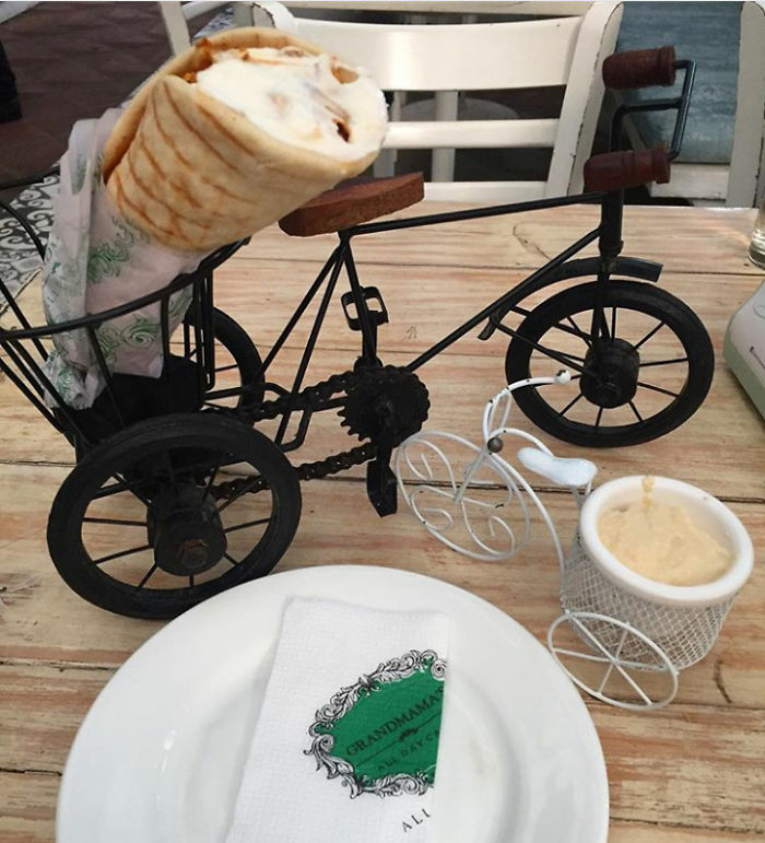 Shawarma On A Bicycle