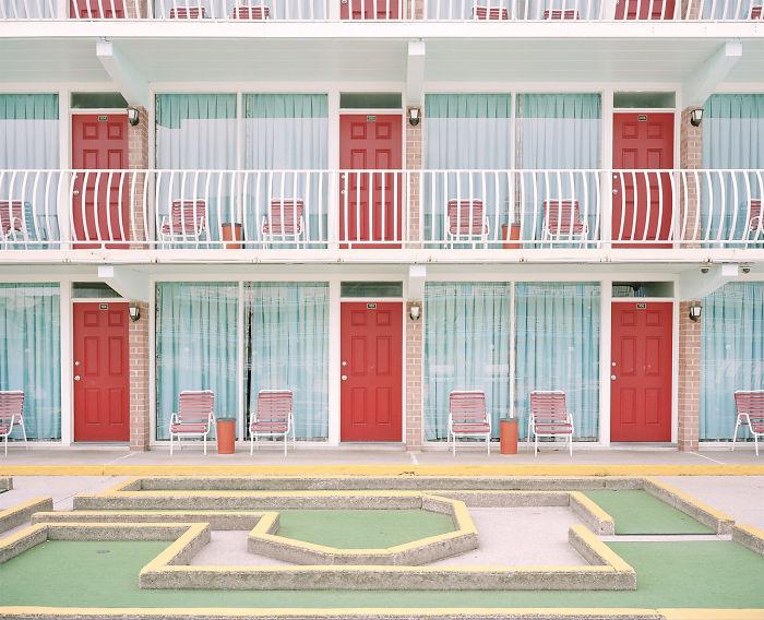 """Ebb Tide"" At Gold Crest Resort Motel By Tyler Haughey"