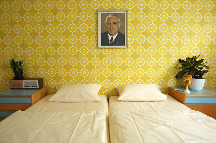 Room In The Ostel Hotel In East Berlin, Germany