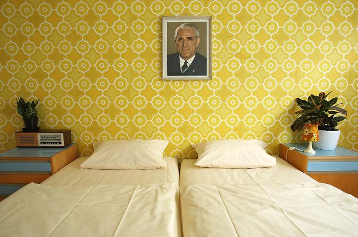 Room In The Ostel Hotel In East Berlin, Germany
