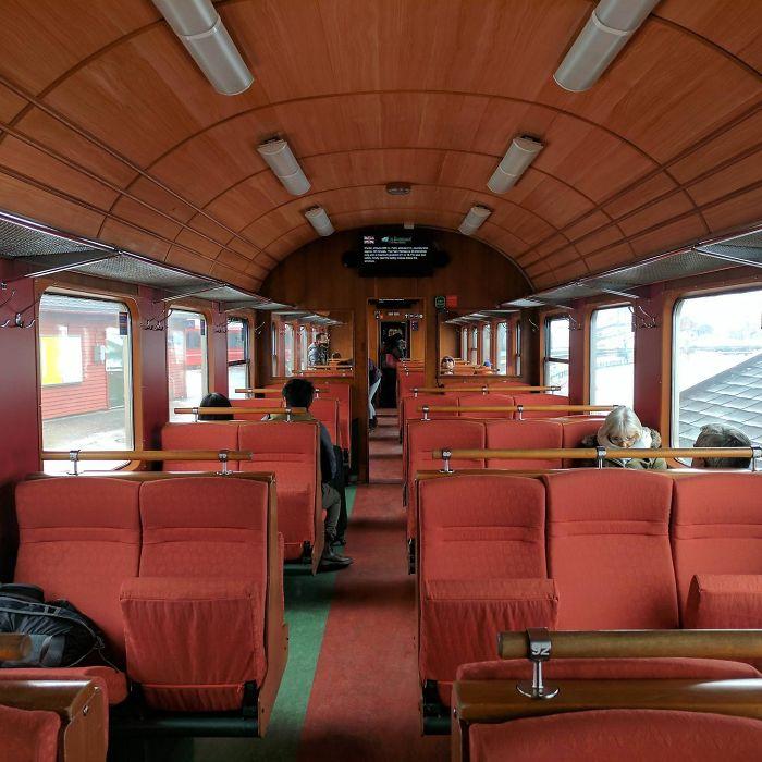 Train In Flåm, Norway