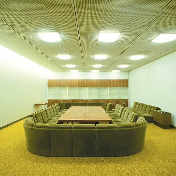 Conference Room In The Former Palast Der Republik In Berlin, Germany