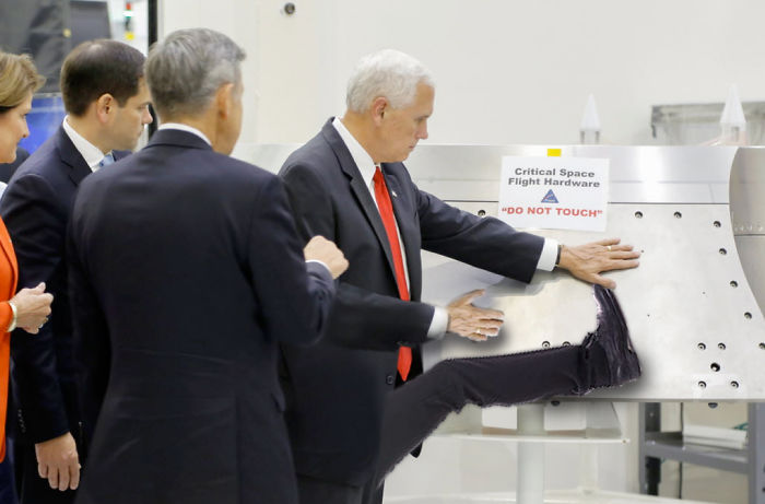 Mike Pence Do Not Touch