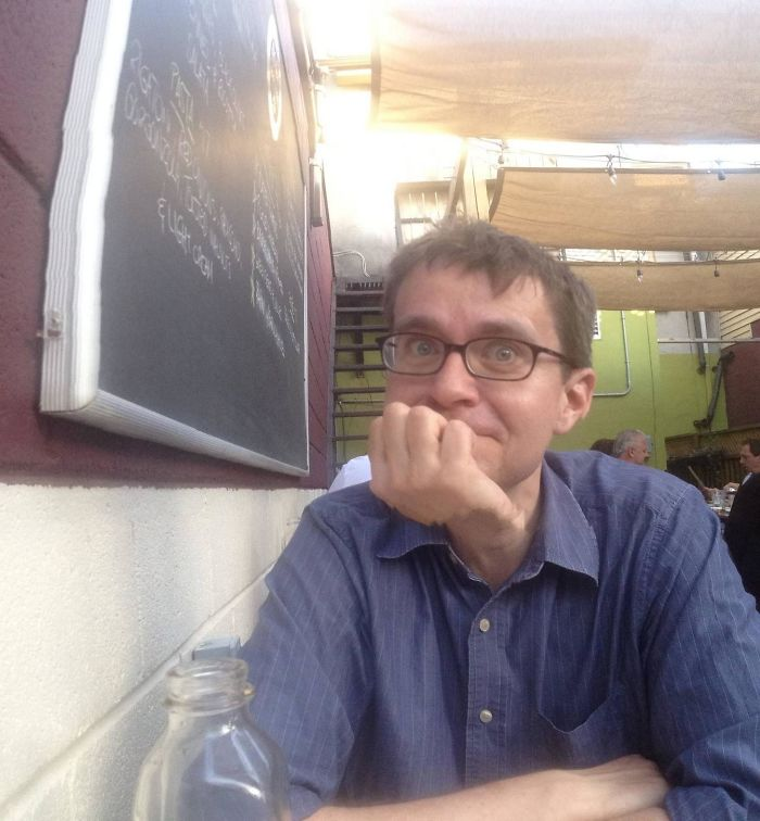 My Kid Took A Panorama Photo Of Me That Went Horribly Right