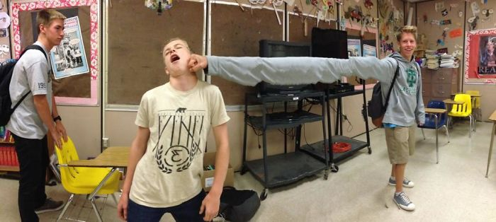 I Was Messing Around With Panorama In Class A Couple Weeks Ago, When This Happened