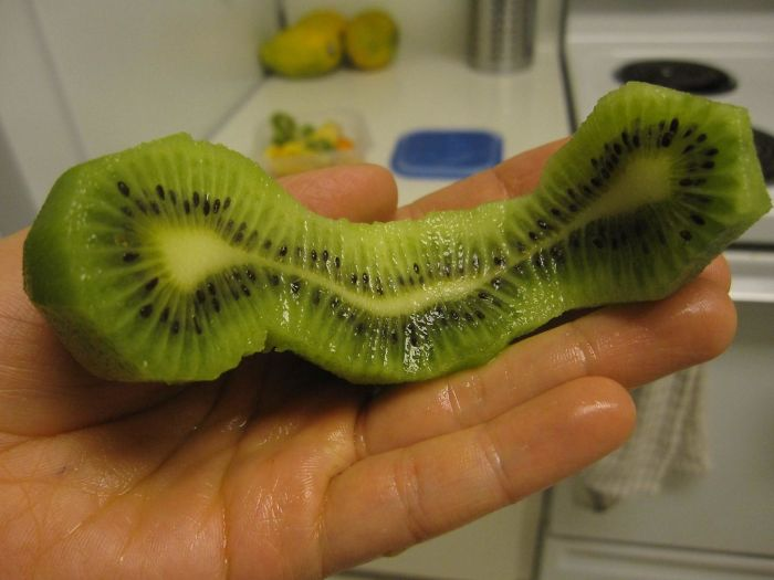Double Banana? Double Egg Yolks? How About These Here Triple Kiwis!
