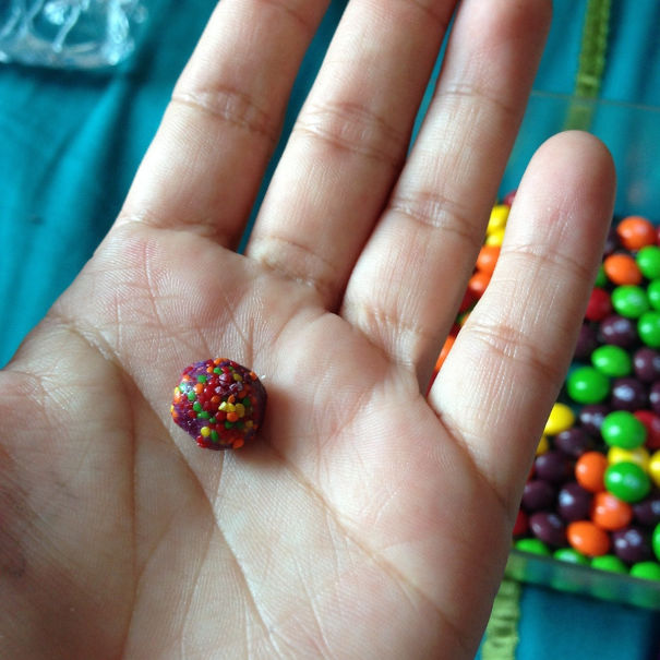 My Girlfriend Found This In Her Skittles Today