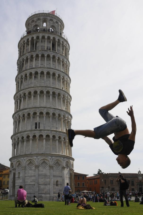 I Didn´t Want To Have A Mainstream Picture With The Leaning Tower Of Pisa