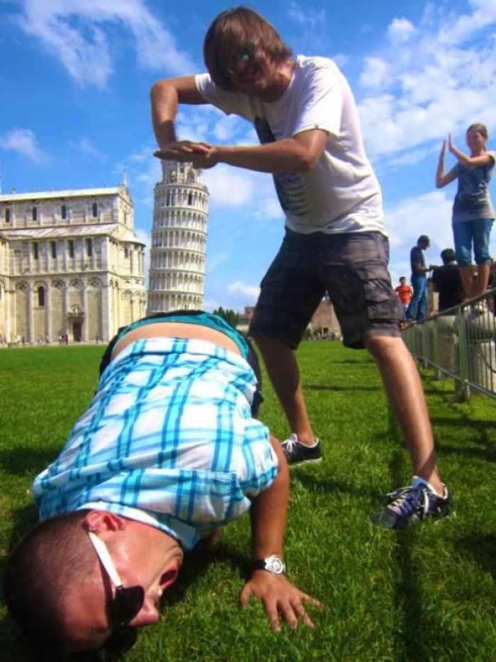 I Usually Don't Like These Leaning Tower Of Pisa Pics But I'll Make An Exception For This One