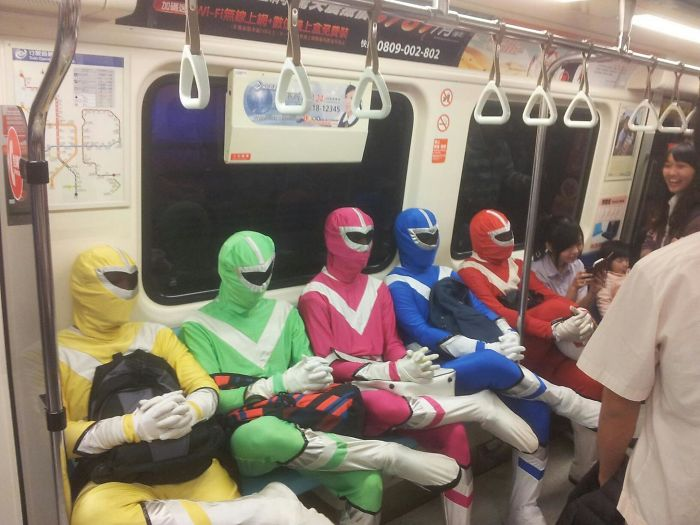 Sometimes I Forget I'm In Asia , And Then I Get On The Metro