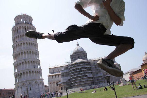 The Straight Tower Of Pisa