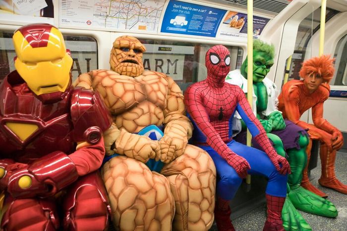 Well That Was An Interesting Subway Journey