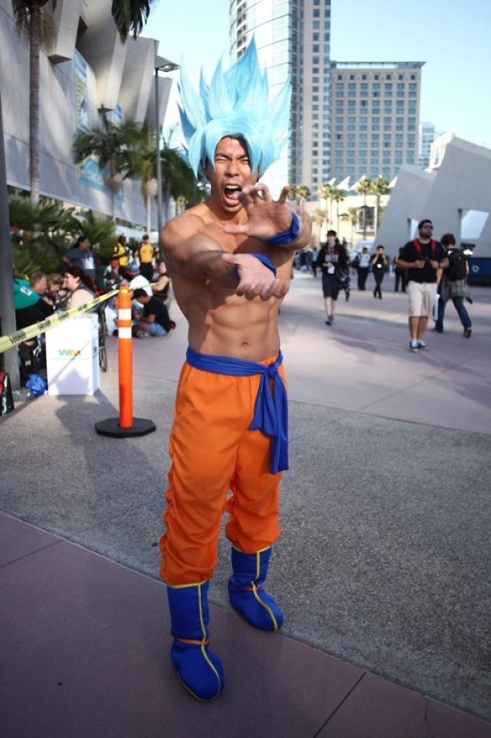 Super Saiyan Blue Goku, Dragonball