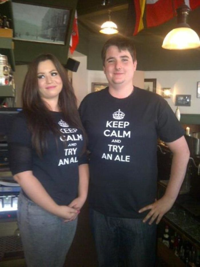 When Pub Staff T-Shirts Go Wrong