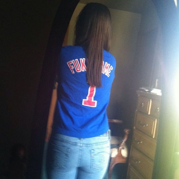 Now I Remember Why I Stopped Wearing This Shirt (Player's Last Name Is Fukudome)