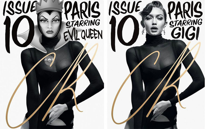 Evil Queen As Gigi Hadid