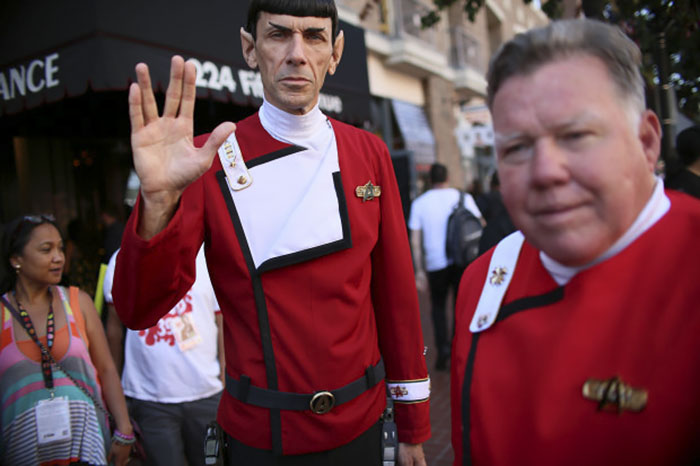 Mr. Spock And Captain Kirk, Star Trek