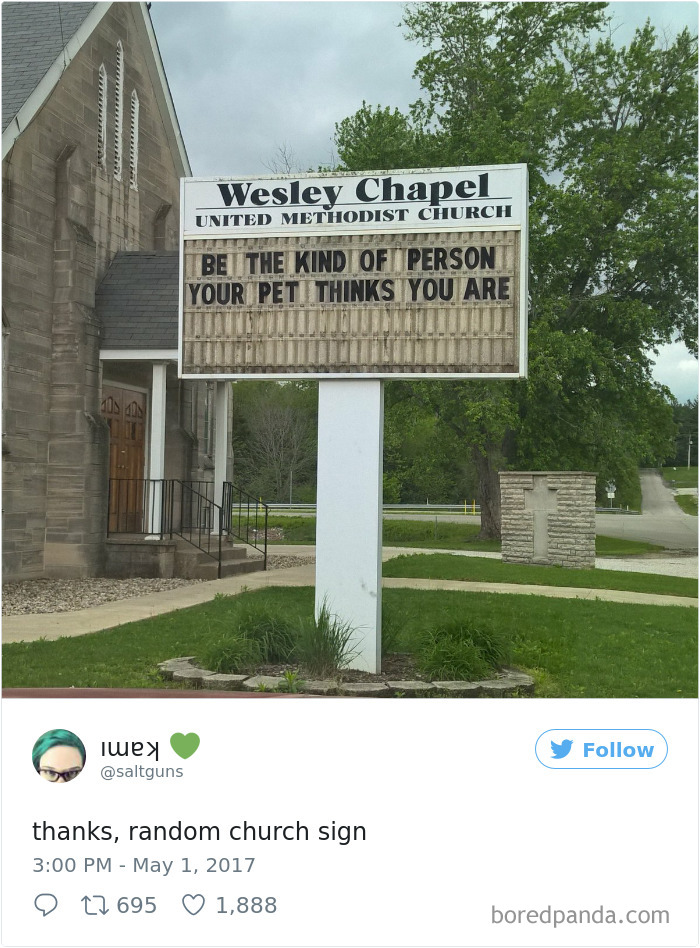 Genius Church Signs That Will Make You Laugh And Think Bored - 27 funny store names that are actually pure genius
