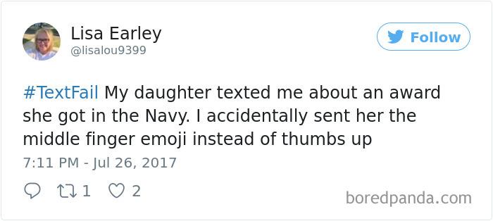 Textfail Tweet