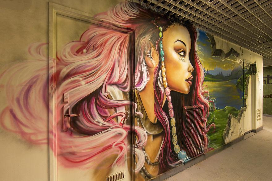 Discover The New Temple Of Graffiti