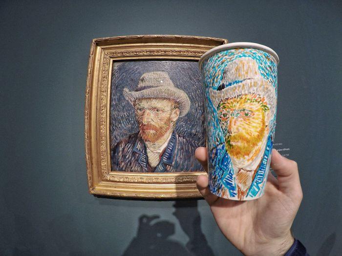 Amsterdam, Portrait Of Van Gogh