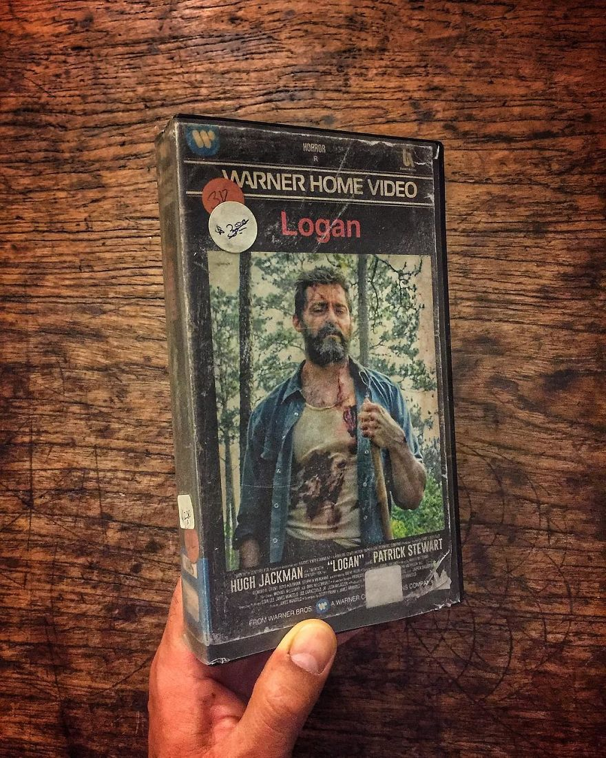 Artist Creates Vhs Covers For Recent Movies And Series And The Result Is Impressive