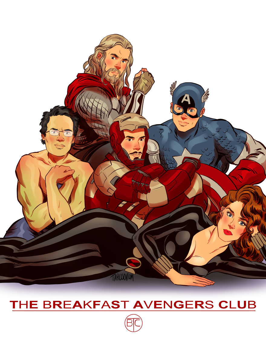 The Breakfast Avengers Club