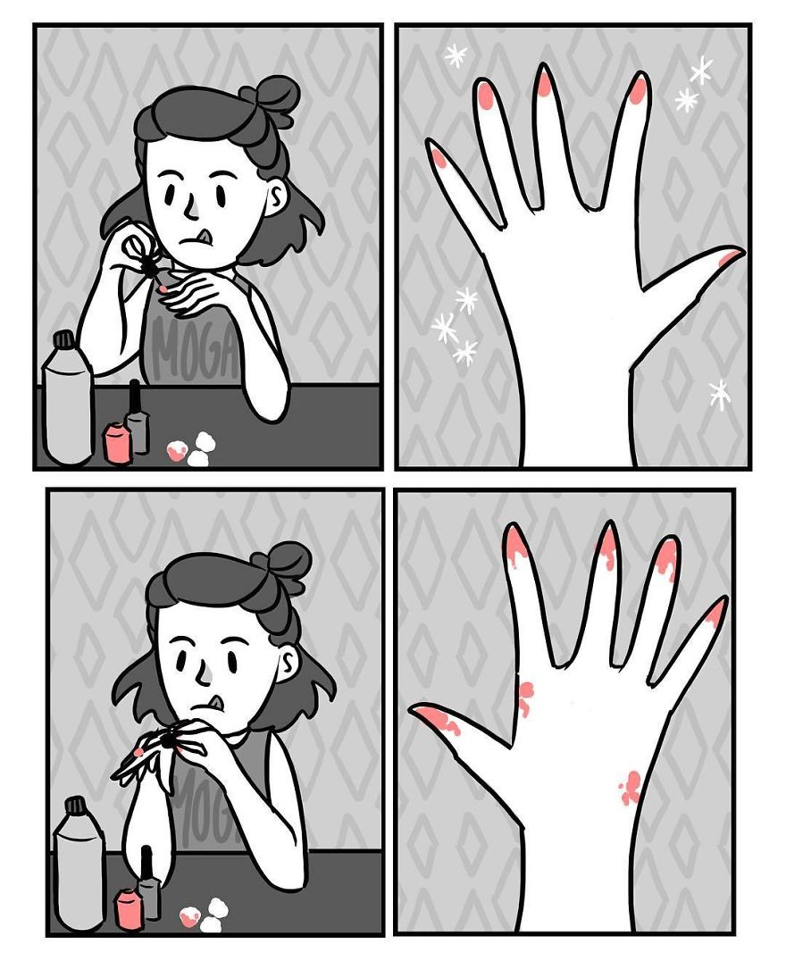 The Struggle Is Real 😭💅🏼