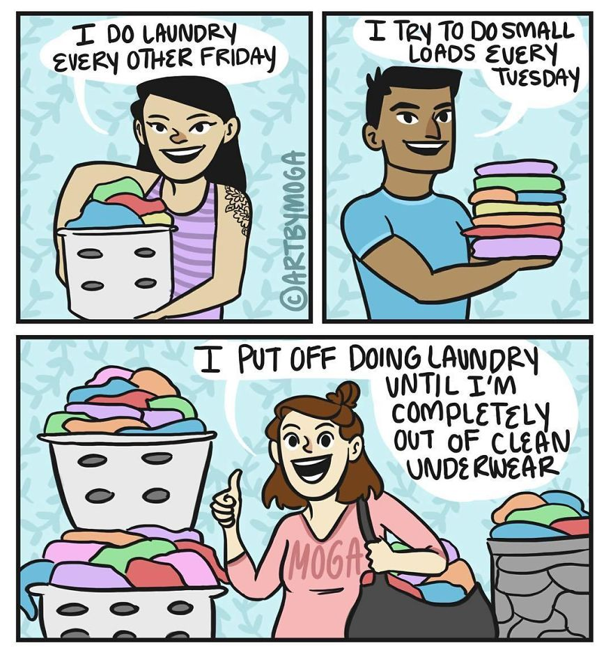 And Then It Takes Four Loads To Wash Everything…