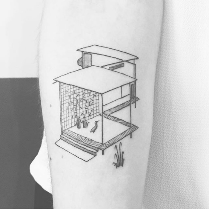 These 11 Tattoo Designs Will Make You Want To Get Inked: 10+ Architecture Tattoos That'll Make You Want To Get