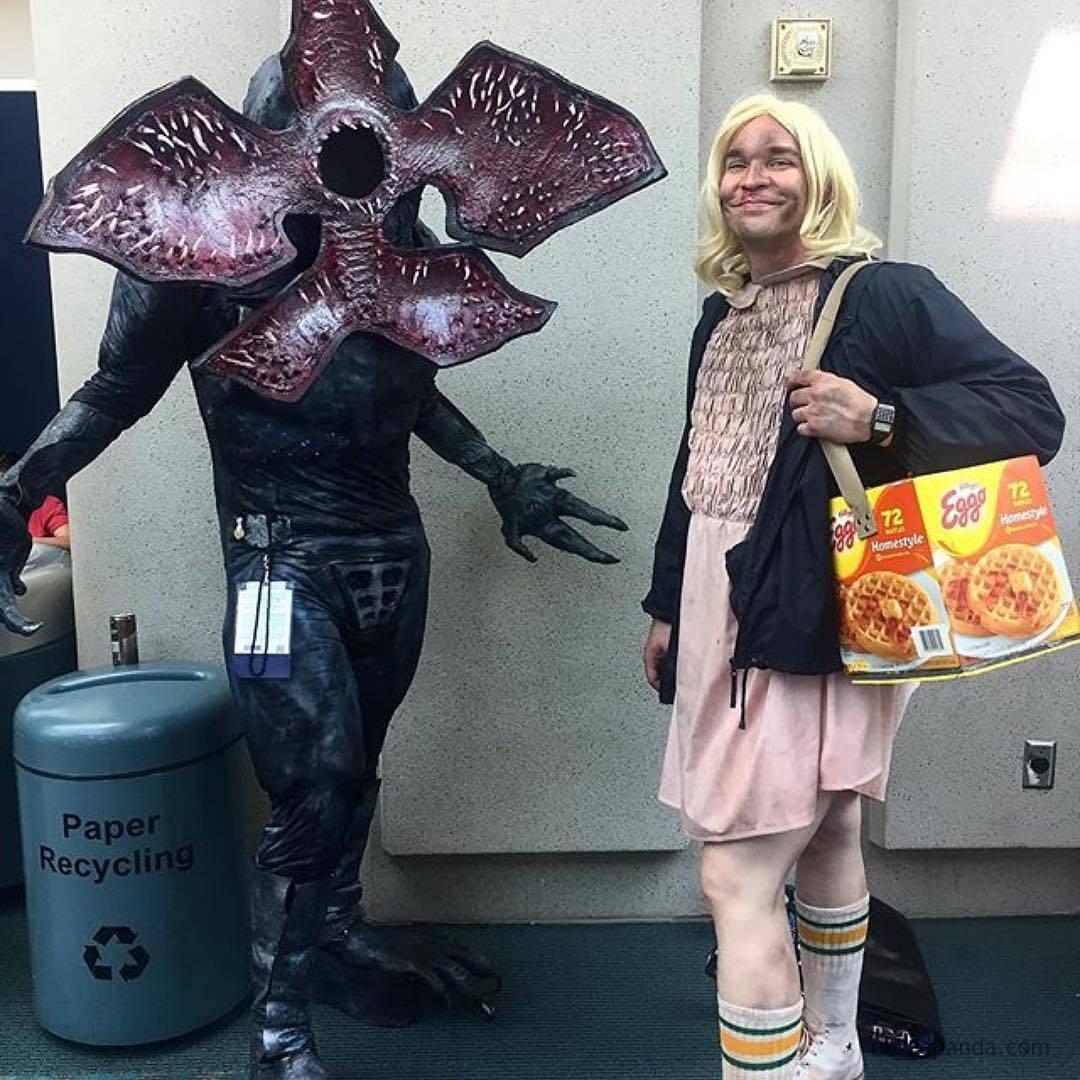 Demogorgon And Eleven, Stranger Things