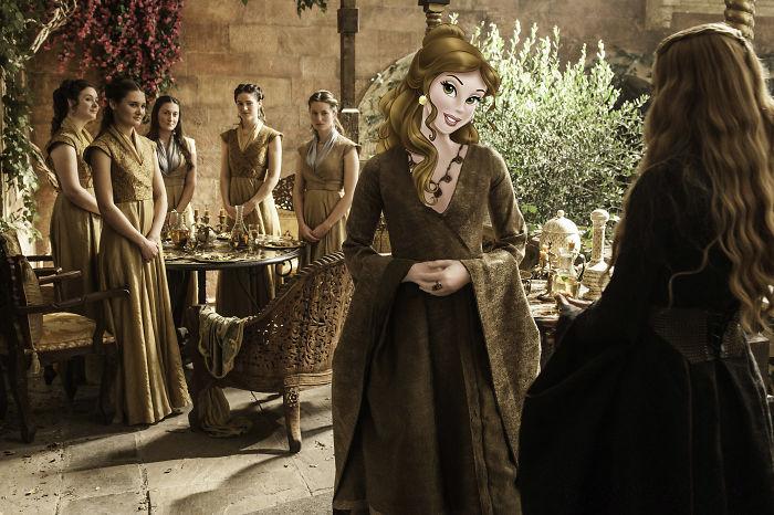 Belle As Margaery Tyrell (Natalie Dormer)
