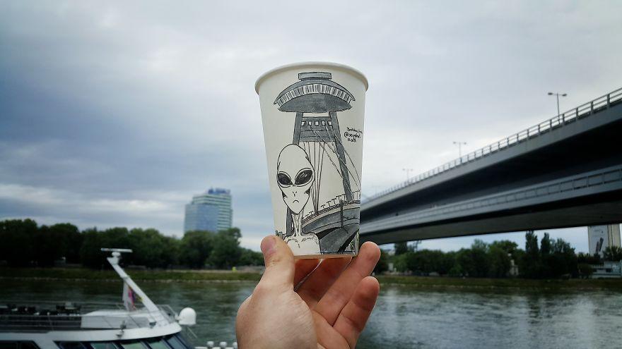 Bratislava, Ufo Bridge